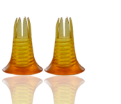 Stiletto Cuffs Classic amber